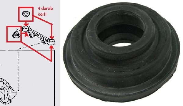 Hiace difitartó szilent (keresztirányú) differenciálmű tartó
