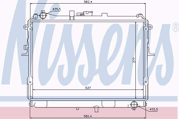Vízhűtő Mazda E2200