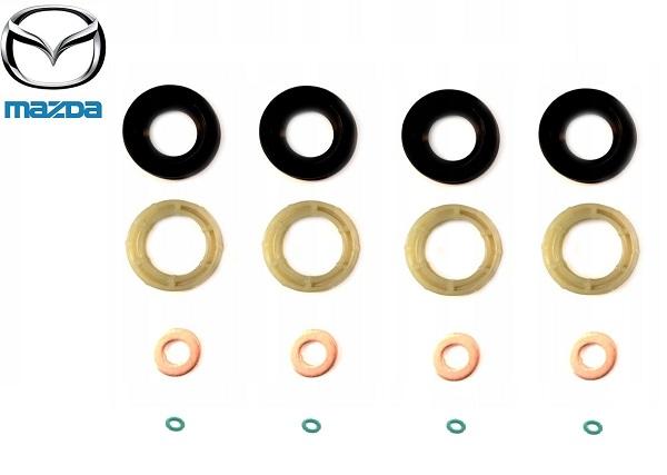 Injektor tömítés, befecskendező tömítés szett  Mazda 3 1.6D